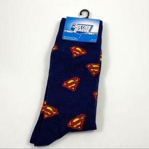 DC Comics Justice League Superman Crew Socks 6-12